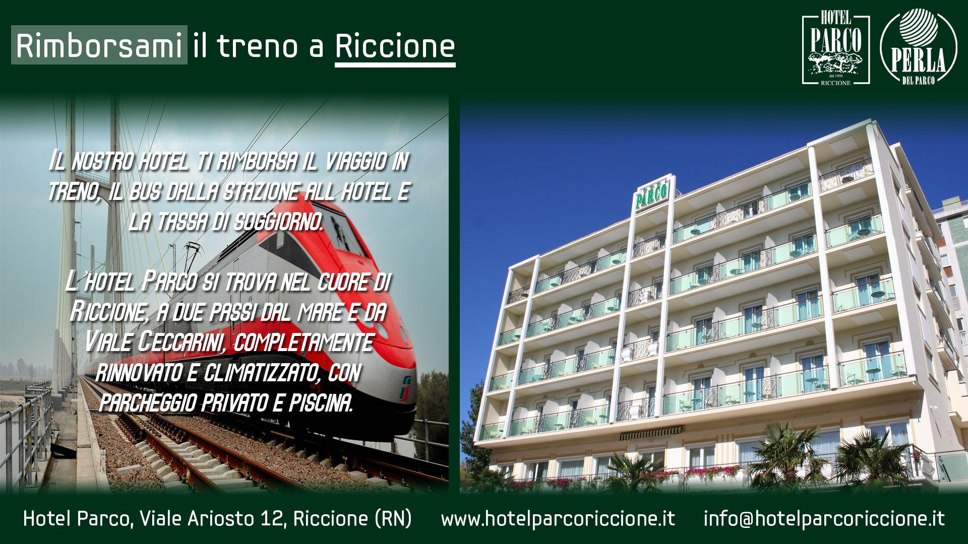 Offerta Riccione in treno (2) – Hotel Parco Riccione - 3 Stelle